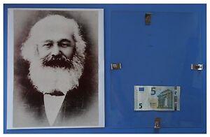 MARX-Marxismo-Russia-URSS-Comunismo-quadro-cornice-vetro-cm-30x24