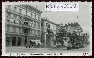 San-Remo-Italie-monument-automobiles-photo-ancienne-1934