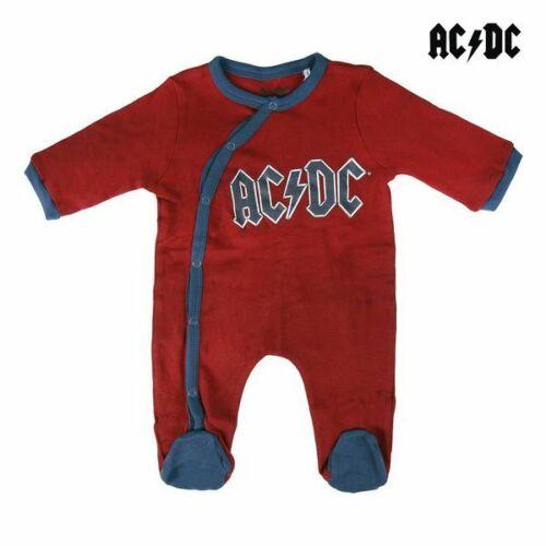 Barboteuse à Manches Longues  pour Bébé AC//DC