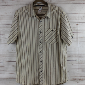 The-North-Face-XL-Button-Shirt-Hiking-Camping-Mens-Cotton