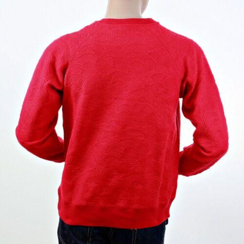 Wave Redm1054 Jeans Rmc Tsunami Ksohoh sudadera redondo con roja cuello Martin 8AOwaqp
