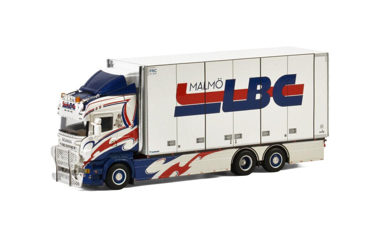 SCANIA-r6 Highline riged Box LBC-Valise Camion LBC 01-2448 2854 1 50