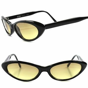 68804d9967fd Classic True Vintage 50s 60s Brown Lens Black Frame Pointy Cat Eye ...