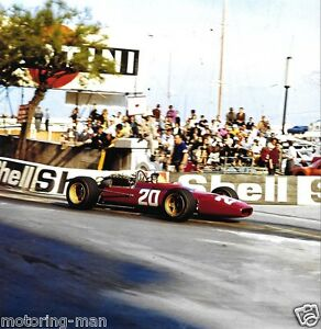 LORENZO-BANDINI-FERRARI-312-FF-GALERIA-PHOTOGRAPH-1967-MONACO-GRAND-PRIX-2