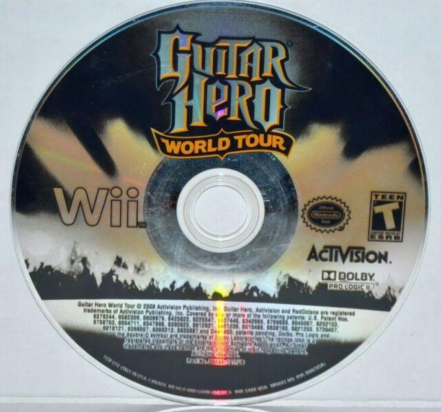 Guitar Hero: World Tour (Nintendo Wii, 2008) Wii U