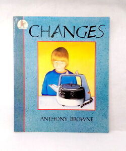 Changes by Anthony Browne used paperback  prepare older siblings for baby  rare