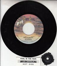 "LED ZEPPELIN  Fool In The Rain & Hot Dog 7"" 45 rpm vinyl record NEW RARE!"