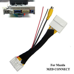 28 Pin Car Reversing Camera Connection Cable For Mazda 2 3 6 CX-5 Roadster Fiat