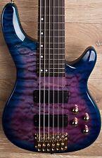 2017 Wolf KTB-6  Blue Burst 6 String Bass