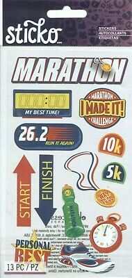 Marathon I Did It Finish Line Energy Water Jolee/'s 3D Stickers
