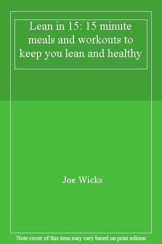 1 of 1 - Lean in 15 - The Shift Plan: 15 Minute Meals and Workouts to Keep You Lean and,