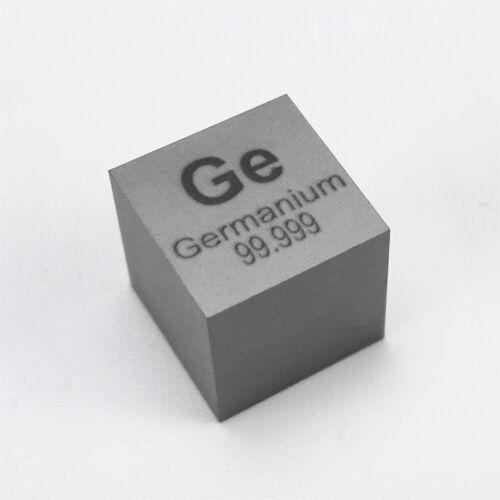Germanium Metal 10mm Cube 99.999/% 5.3grams Element Ge Specimen