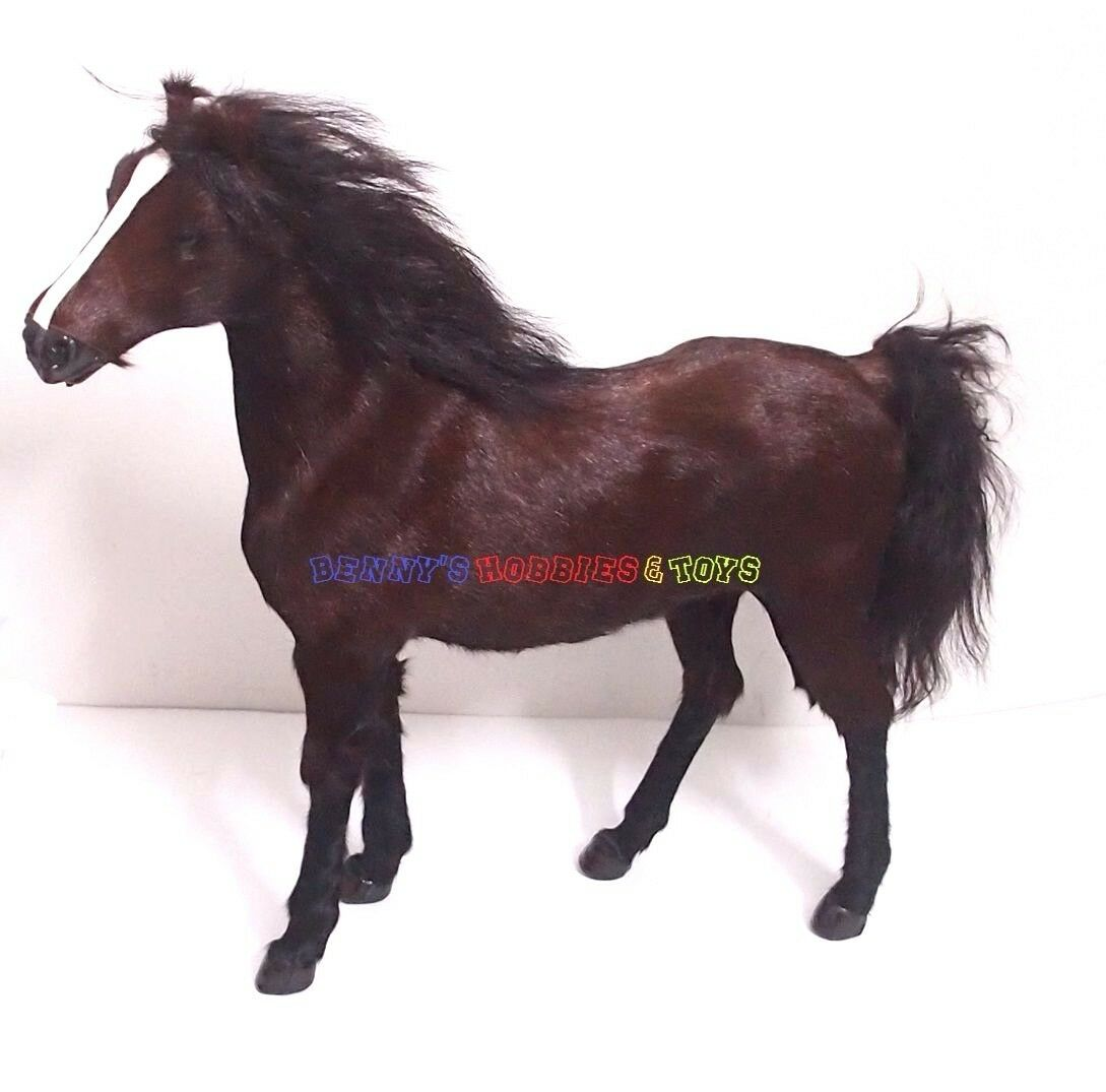 Nuovo 1/6 Scale War Battle marrone Horse w/o Saddle - 12  Action Figure WWII Soldier