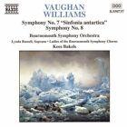 """Vaughan Williams: Symphonies Nos. 7 """"Sinfonia antartica"""" & 8 (CD, Sep-1998, Naxos (Distributor))"""
