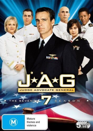 1 of 1 - JAG : Season 7 (DVD, 2010 edition, 5-Disc Set)