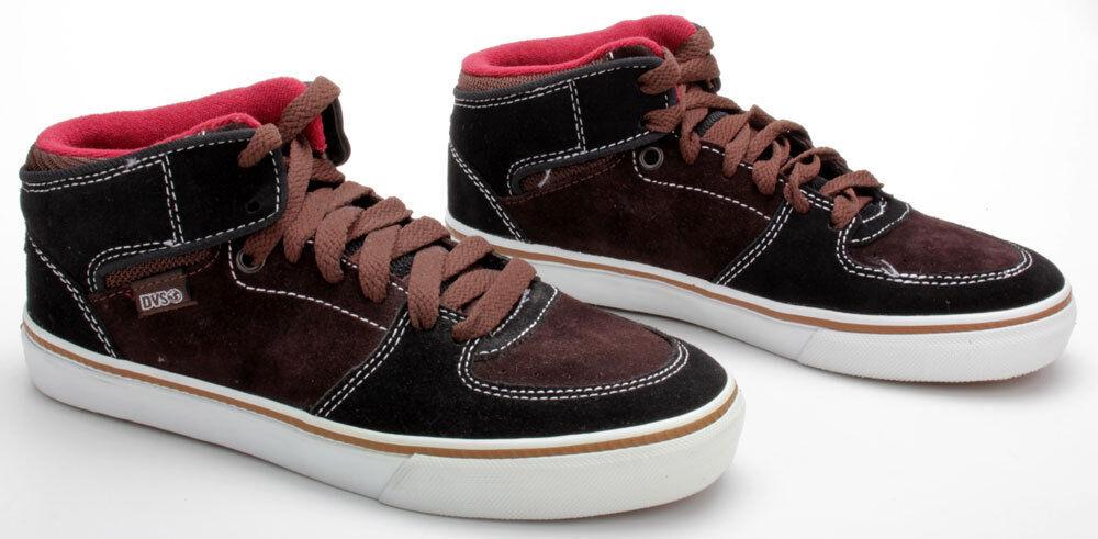 Billig hohe Qualität DVS Schuhe Torey Black/Brown Suede