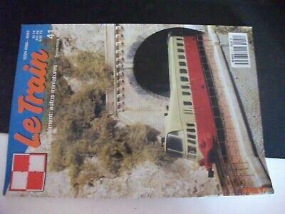 ** Revue Le Train N°41 241 A Du Plm / Vieux Berlin En N / Rame Rgp Tee De Sncf Vendite Di Garanzia Della Qualità