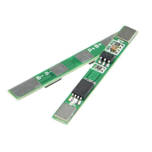 3pcs1S 3.7V 2.5A PCB BMS Protection Board for 18650 Li-ion Lithium Battery CellW