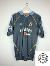 Retro REAL MADRID 03/04 Third Football Shirt (L) Soccer Jersey Adidas