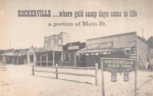 SD, South Dakota ROCKERVILLE GOLD TOWN Ghost Town US 16