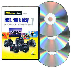 Nikon-School-DVD-Fast-Fun-amp-Easy-7-for-D3000-D3100-D5000-D5100-amp-D7000-Cameras