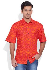 premium selection 14927 c3fb7 Details zu Kurzarm Baumwolle Knopf unten hawaiianische Männer Shirt Strand  Freizeitkleidung