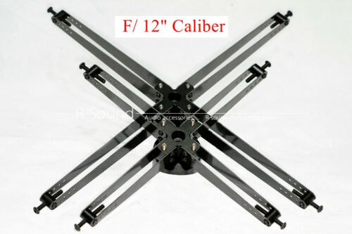 "(Newtonian) Reflector Telescope Spider W// Secondary Mirror Holder F// 12/"" Caliber"