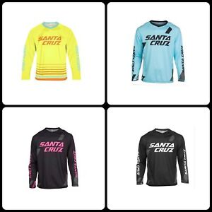 Image is loading Cycling-Long-Sleeves-Shirts-Santa-Cruz-Mountain-Bike- d9e3fa7de