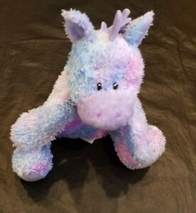 Gund-Plush-Sprinkles-Pony-Horse-Stuffed-Animal-Purple-Blue-58177-Baby-Toy-Lovey