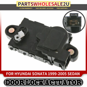 Door Lock Actuator Rear Driver Left Side For 1999-2005 Hyundai Sonata 9575538000