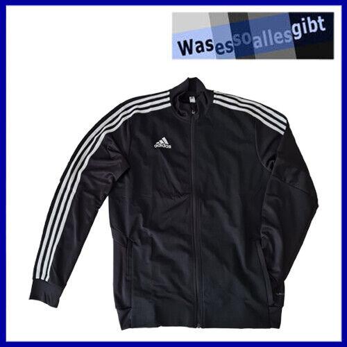 SCHNÄPPCHEN! adidas Tiro 19 Training Jacket \ schwarz/weiss \ Gr.: M \ #T 40070