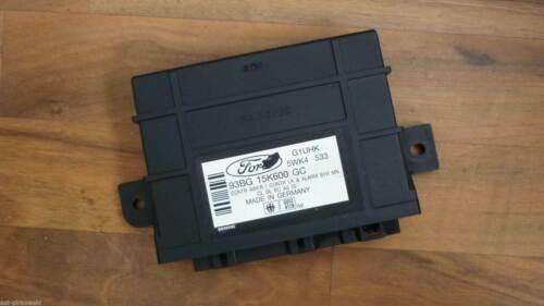 Alarm Zentralverriegelung Steuergerät 93BG 15K600 GC Ford Mondeo 1 I GBP