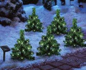 Weihnachtsbaum Kaufen Gütersloh.Details Zu 5er Set Tannenbäumchen Weihnachtsbaum Led Solar Outdoor Akku Weihnachtsbäumchen