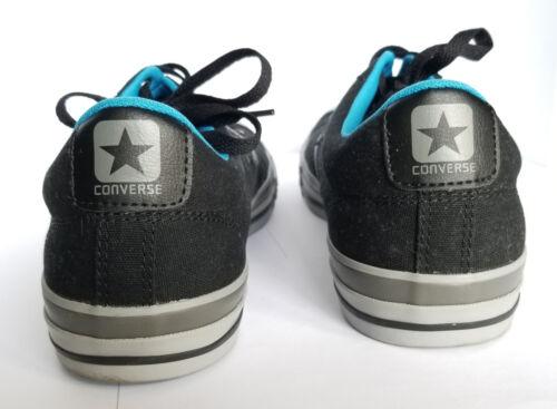 Eu Blue Uk con Star 44 Zapatillas Converse Unisex Player 10 Canvas Ox Black cordones Y11x7q