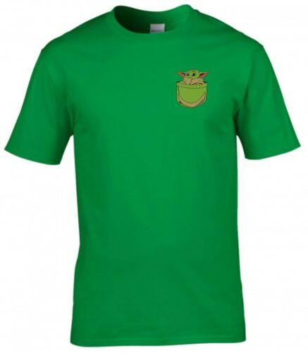 Baby Yoda T shirt STAR WARS I Mandaloriani fan regalo di compleanno bambini Youth Tee Top