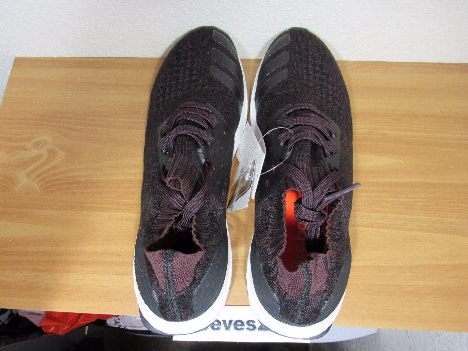 099608e1c adidas Wool Ultra Boost Uncaged Dark Burgundy Red Sz 9 Ultraboost By2552  for sale online