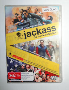 Jackass-The-Movie-Collection-Movie-3-DVD-039-s-Rated-MA15