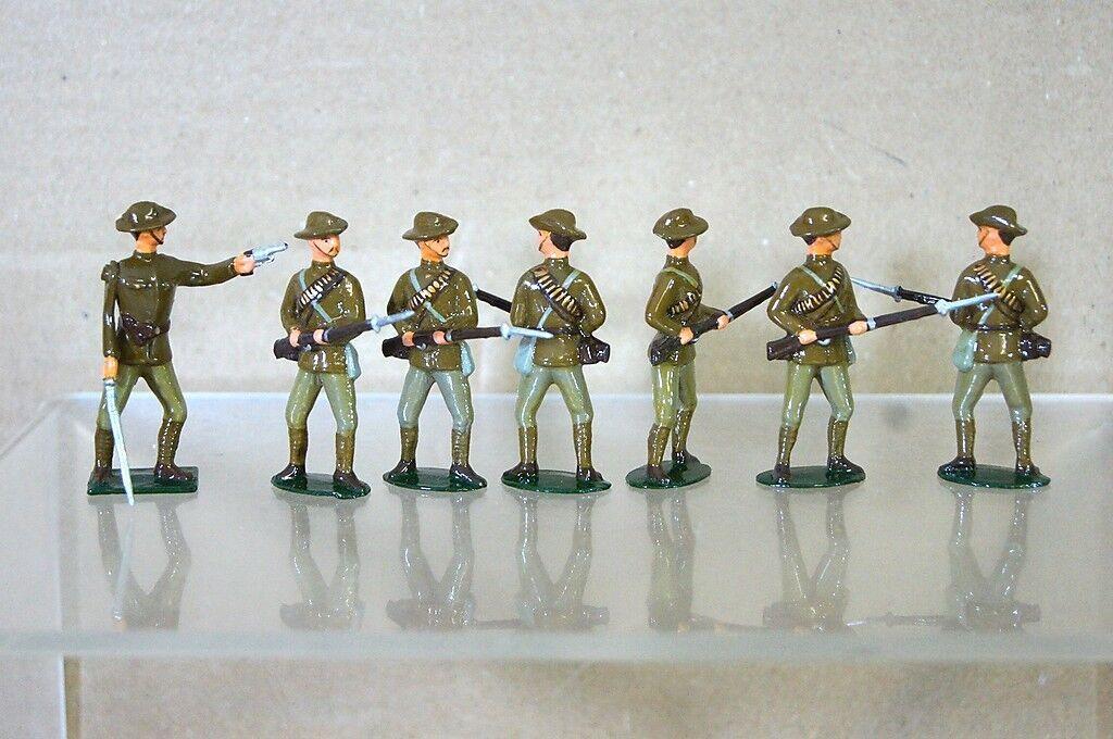 Réplica Modelos Patricio Campbell Zulú Guerra Ejército Servicio Corp Disparo X 7
