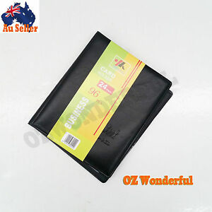 24 pages 96pkts business card holder booklet folder wallet organizer image is loading 24 pages 96pkts business card holder booklet folder colourmoves