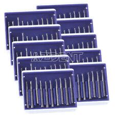 10x Dental Clinic High Speed Fg Burs Tungsten Carbide Cutting Steel Drill 100pcs