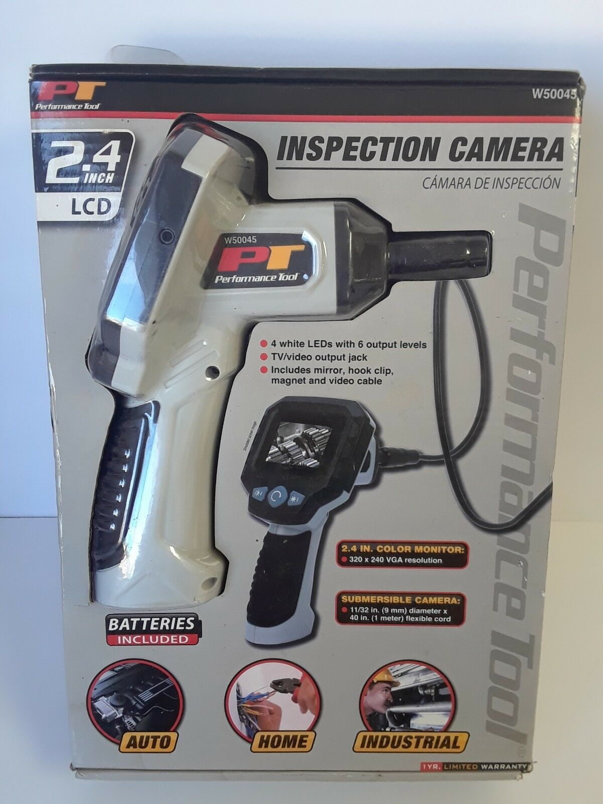 Performance Tool LCD Inspection Camera W50045- 6356
