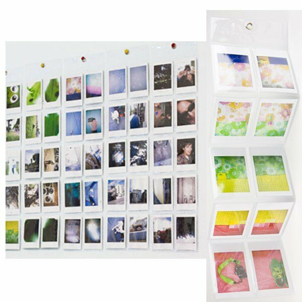 3pcs Instax Photo Paper Film Wall Album for Fujifilm Fuji Mini 8 90 7s 25 50s