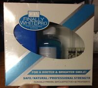 Igia® Finally White Pro - Tooth Whitening System. Non Peroxide - 42 Treatments