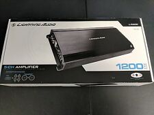 LIGHTNING AUDIO ROCKFORD FOSGATE L-5600 AMPLIFIER 1200 WATT 5 CHANNEL AMP L5600