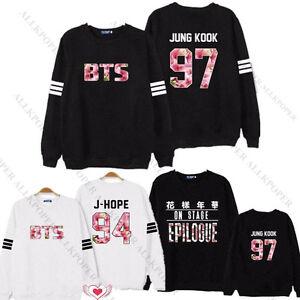 Kpop-BTS-Sweatershirt-Bangtan-Boys-In-Bloom-Sweater-ARMY-ZIP-Hoodie-Pullover-V