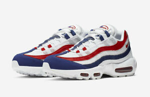 AUTHENTIC NIKE AIR MAX 95 White Gym Red
