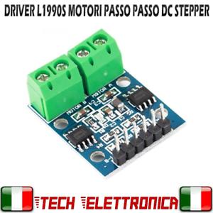 Driver L9110S PER MOTORI PASSO PASSO DC STEPPER Cnc Arduino