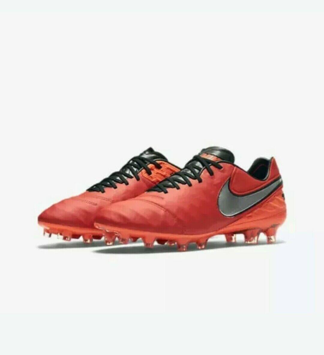 Nike Hombre Tiempo Legend V FG botas de fútbol tamaño de Reino Unido 6 (EUR39)