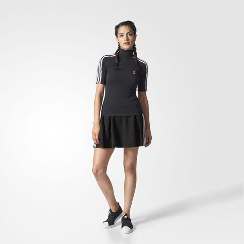 Adidas BR4487 Damen Originals 3 Stripe Röcke schwarz