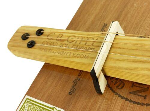 "2pc Hard Maple /""Flying Bridge/"" Bridges for Cigar Box Guitar"